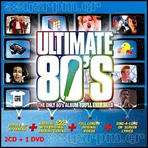 Ultimate 80s - 2CD +1DVD 80s - 3345rpm.gr