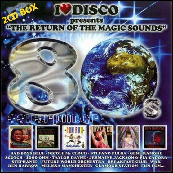 I Love Disco 80s  Vol 1 - 2CD Set - 3345rpm.gr
