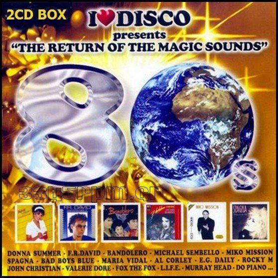 I Love Disco 80s Vol.2 - 2CD Set - 3345rpm.gr