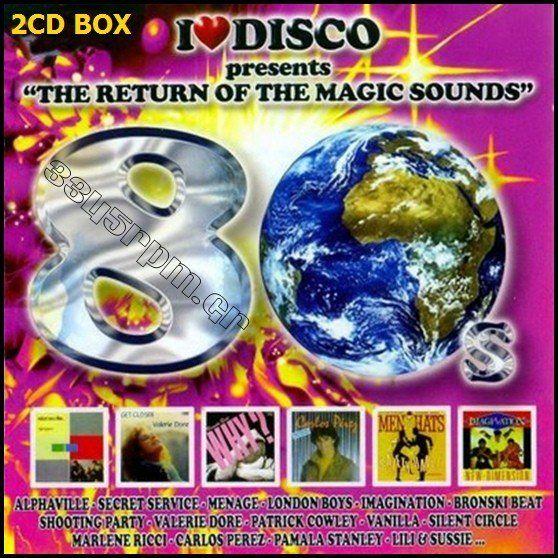 I Love Disco 80s  Vol 3 - 2CD Set - 3345rpm.gr