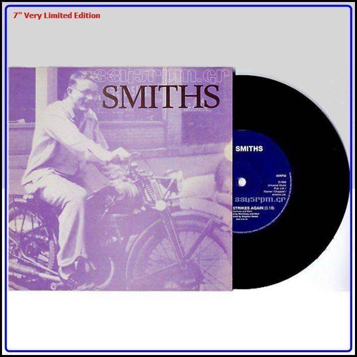 Smiths - Bigmouth Strikes Again - Vinyl single 7inch - 3345rpm.gr