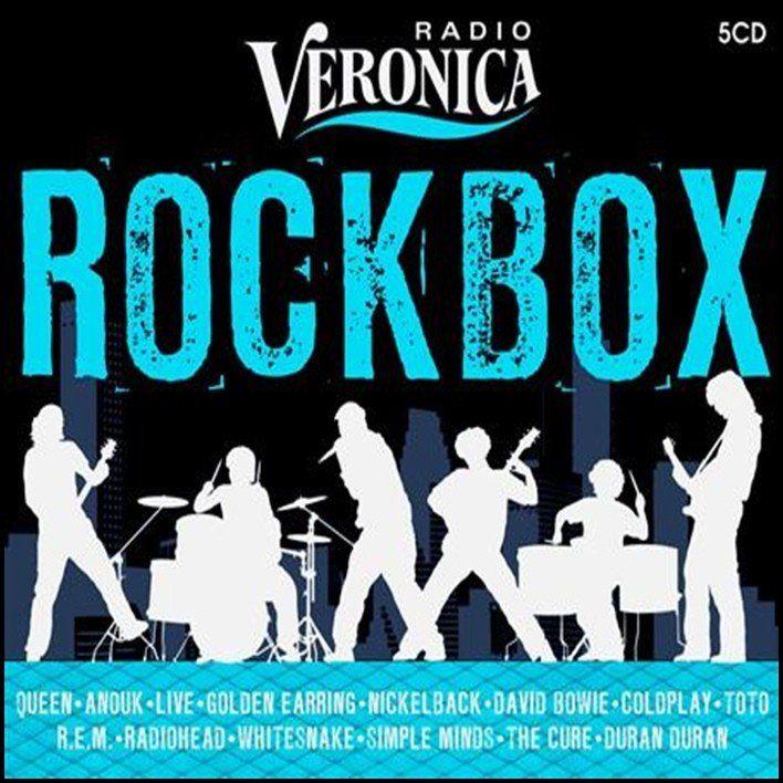 Radio Veronica - Rock box - 5CD Box Set Rock - 3345rpm.gr
