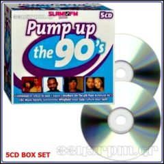 Pump Up The 90s - 5CD Box Set - 3345rpm.gr