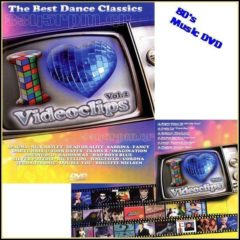 I Love Video clips 80s Vol.2 - Music DVD - 3345rpm.gr