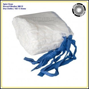 Spin Clean Record Washer MKII - Dry Cloths (5 Pack) - 3345rpm.gr