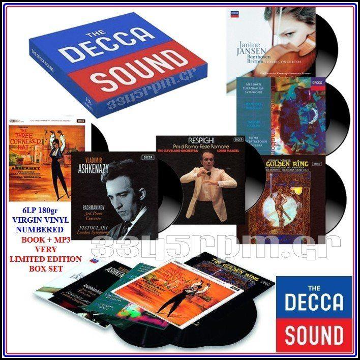 Decca sound - Vinyl 6LP 180gr - 3345rpm.gr