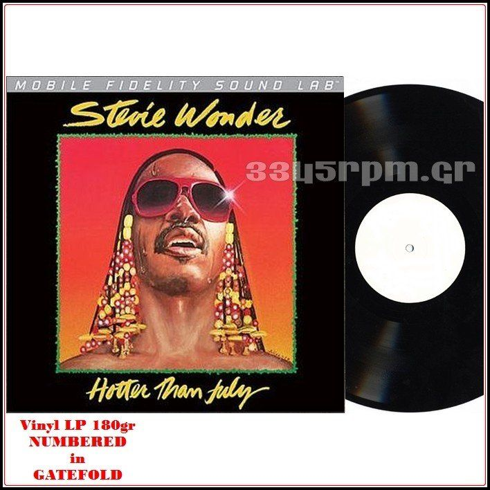 Stevie Wonder  - Hotter Than July - Vinyl HQ LP 180gr LTD - 3345rpm.gr