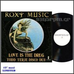 Roxy Music - Love Is The Drug (Remix) - 12inch Maxi Single - 3345rpm.gr