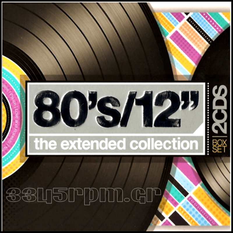 80s 12inch The Extended Collection 2cd Box