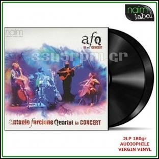 Antonio Forcione - Quartet In Concert -2LP 180gr Vinyl - 3345rpm.gr