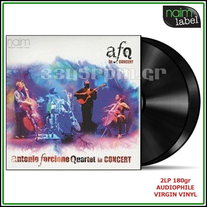 Antonio Forcione - Quartet In Concert -2LP 180gr Vinyl - 3345rpm.gr