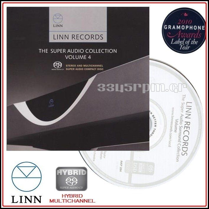 Linn Records - Super Audio CD Vol 4 - SACD Multi-Channel - 3345rpm.gr