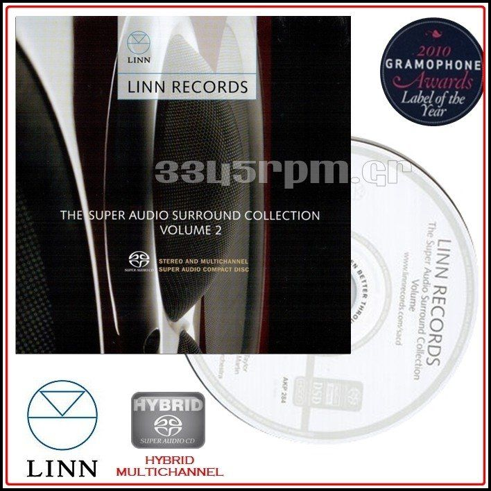 Linn Records - Super Audio CD Vol 2 - SACD Multi-Channel - 3345rpm.gr