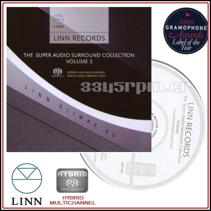 Linn Records - Super Audio CD Vol 3 - SACD Multi-Channel - 3345rpm.gr