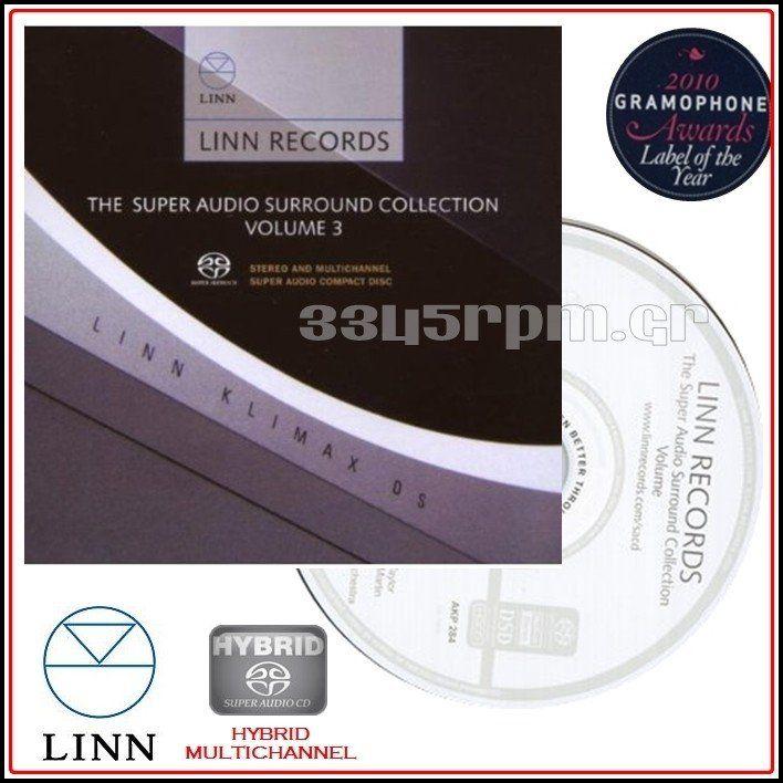 Linn Records - Super Audio CD Vol 3 - SACD Multi-Channel - 3345rpm.gr
