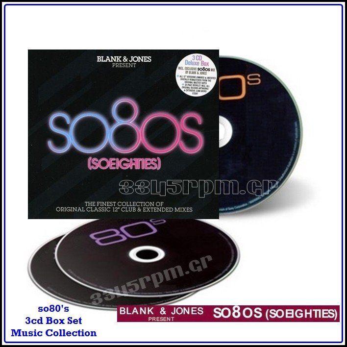 SO 80s - BLANK & JONES Presents SO 80s 1 - 3345rpm.gr