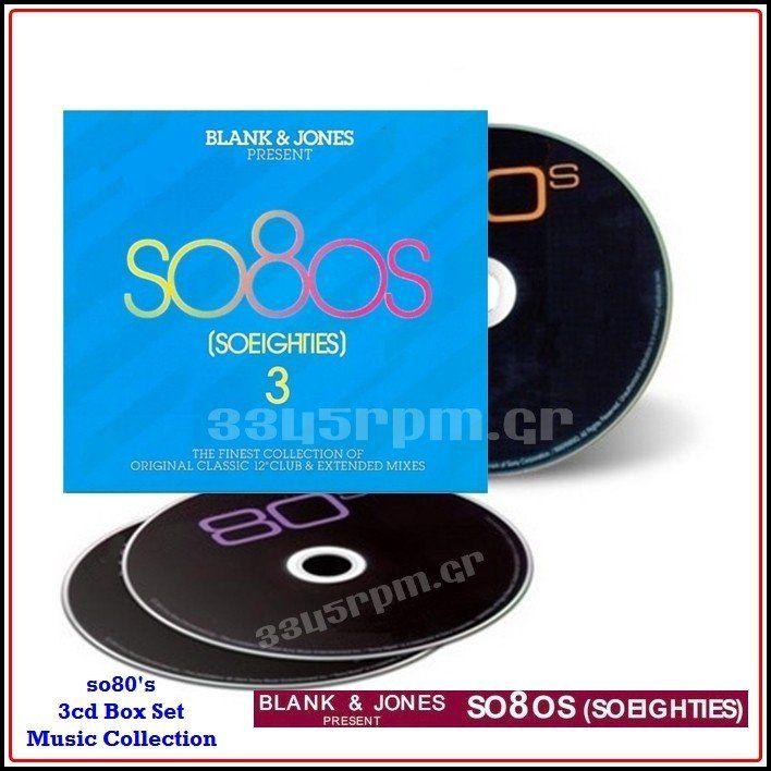 SO 80s - BLANK & JONES Presents SO 80s 3- 3CD - 3345rpm.gr