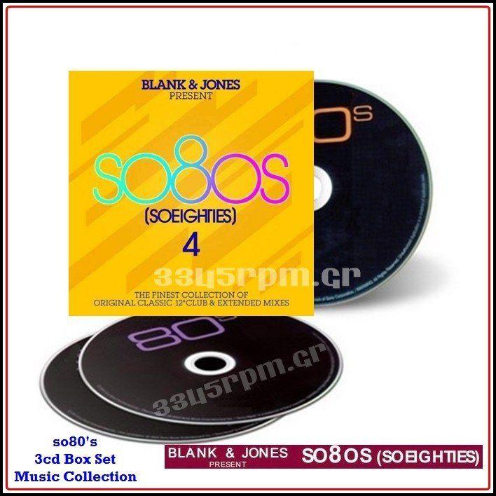 SO 80s - BLANK & JONES Presents SO 80s 4- 3CD - 3345rpm.gr