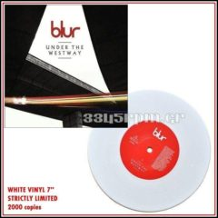 Blur  - Under The Westway - White Vinyl 7inch - 3345rpm.gr
