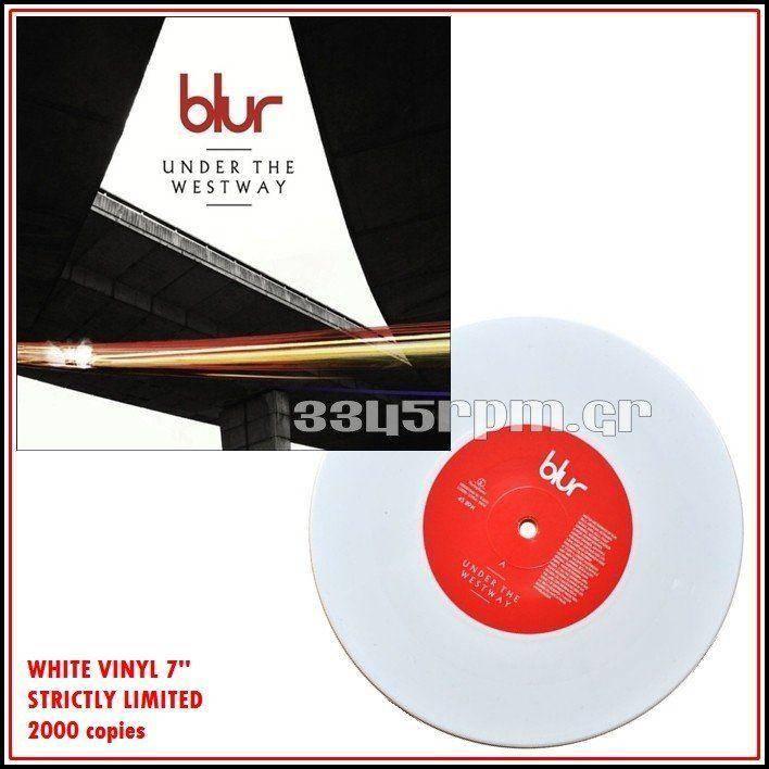 Blur  - Under The Westway - White Vinyl 7inch - 3345rpm.gr