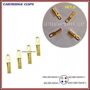 Cartridge Clips Set 4 - Vinyl Aid