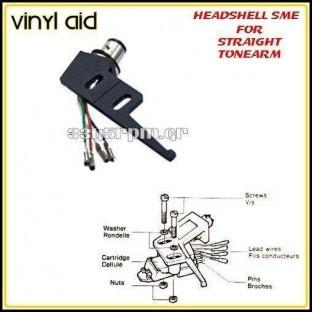 Headshell-sme for straight tonearm- Vinyl Aid