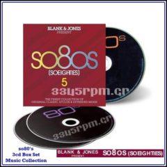 SO 80s - BLANK & JONES Presents  SO 80s 5- 3CD