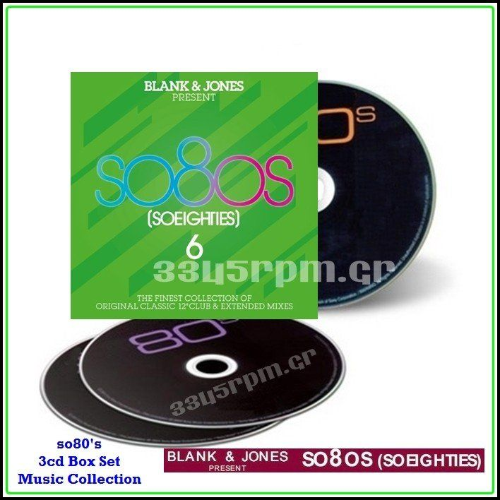 SO 80s - BLANK & JONES Presents SO 80s 6- 3CD