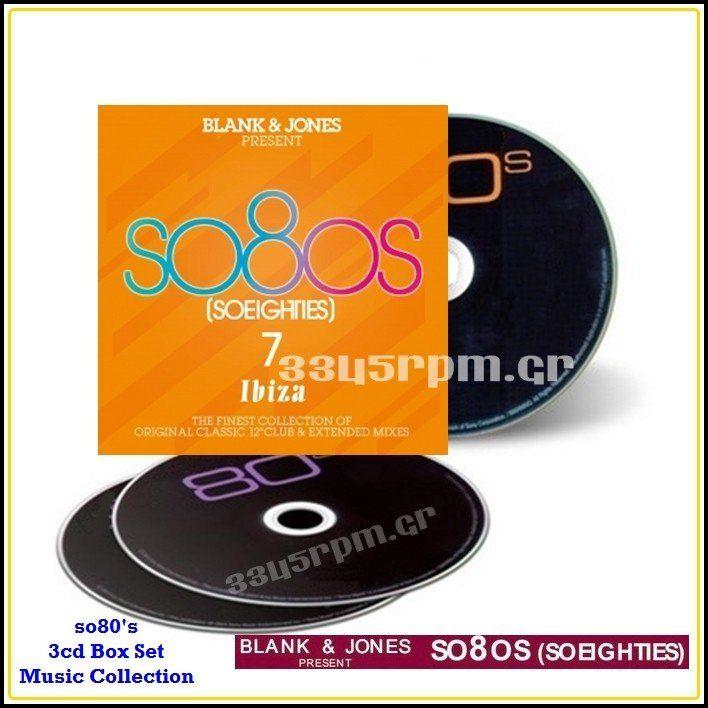 SO 80s - BLANK & JONES Presents SO 80s 7- 3CD