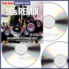 Massive Hits - 90s Remix - 3CD BOX