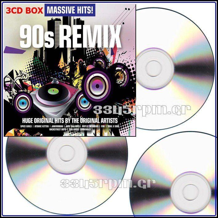 Massive Hits - 90s Remix - 3CD BOX