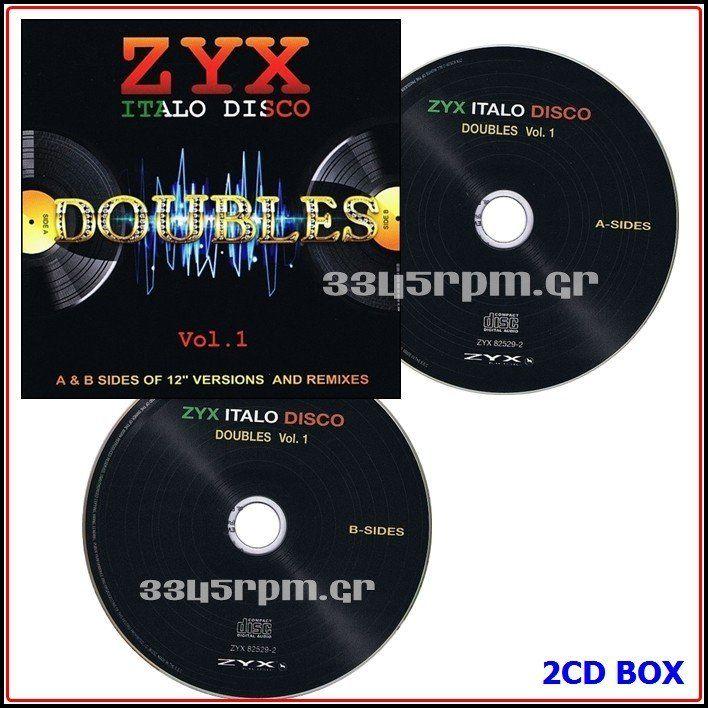 Italo Disco Doubles Vol.1- 2CD Italo disco