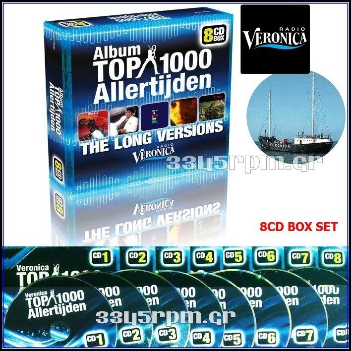 Album Top 1000 - Long Versions - 8CD BOX