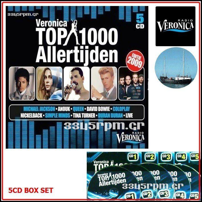 Album Top 1000 Vol 9 - 5CD BOX