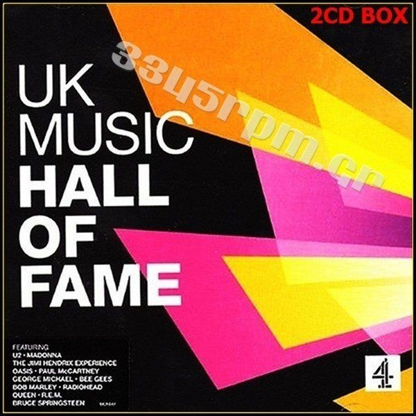 UK Music Hall Of Fame - 2CD