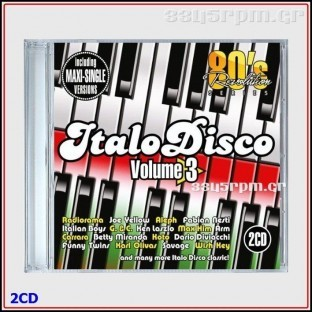 80s Revolution Italo Disco Vol 3- Maxi Single Versions - 2CD