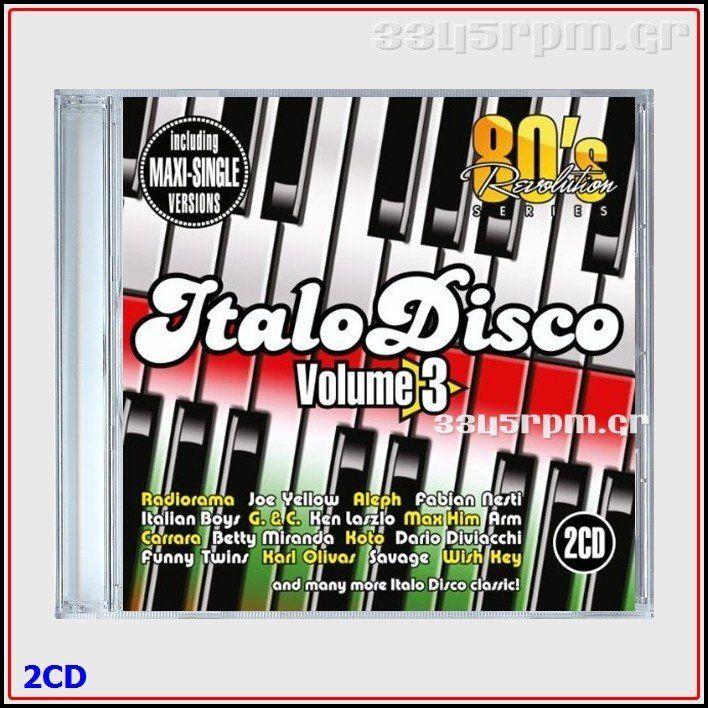 80s Revolution Italo Disco Vol 3- Maxi Single Versions - 2CD