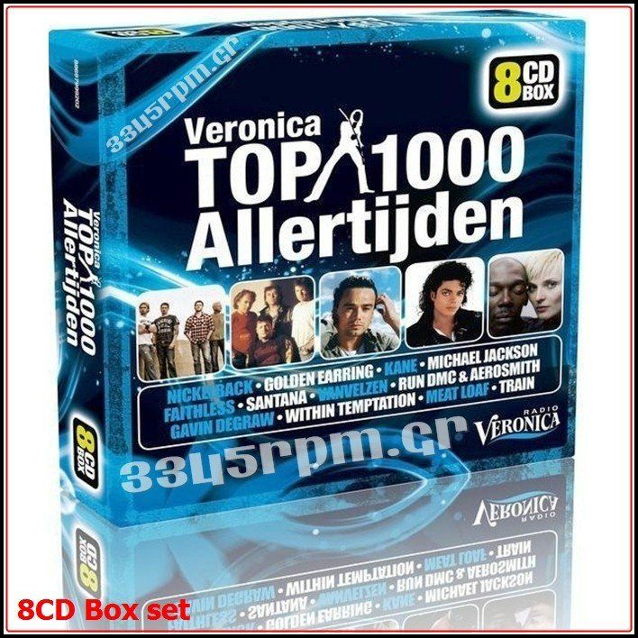 Album Top 1000 Vol 11 - 8CD BOX