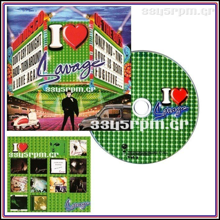 Savage - I Love Savage -Best of - CD