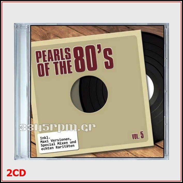 Pearls Of The 80s - Maxis Vol.5 - Long versions 12inch -2CD