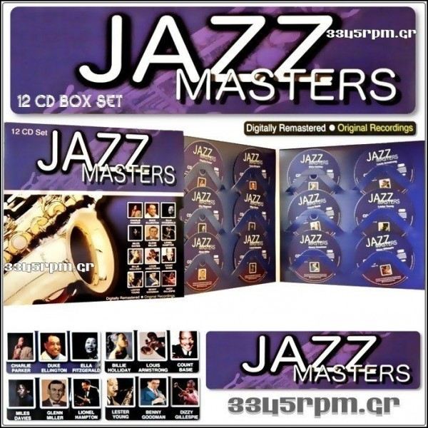 Jazz of Masters - Special Edition - 12 CDs Box Set
