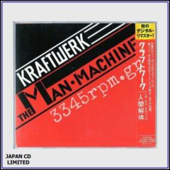 Kraftwerk - The Man Machine- Japan CD Limited Pressing