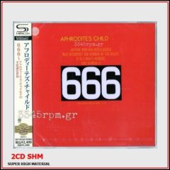 Aphrodites Child  - 666 - 2 CD Japan-Limited Pressing