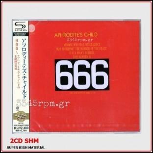 Aphrodites Child - 666 - 2 CD Japan-Limited Pressing