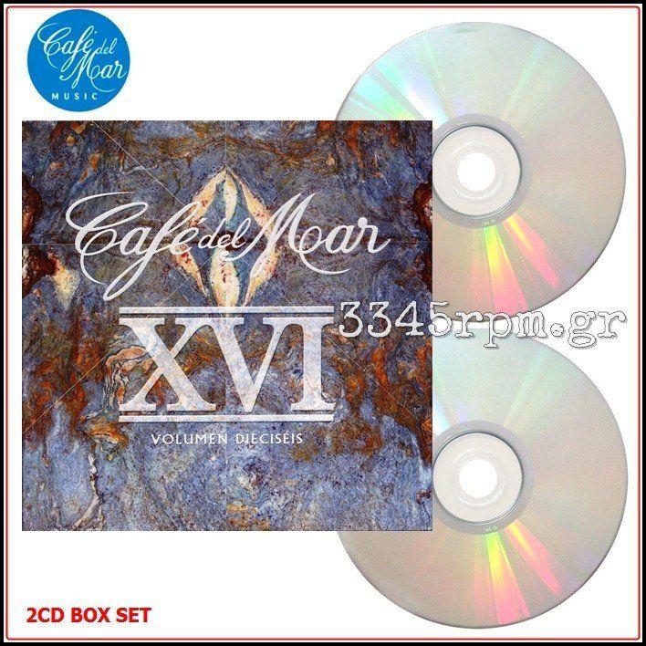 Cafe Del Mar XVI – Vol.16 - 2CD Box