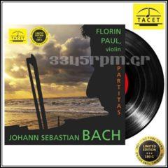 Bach, Johann Sebastian_ Partitas for Solo Violin_Vinyl LP 180gr