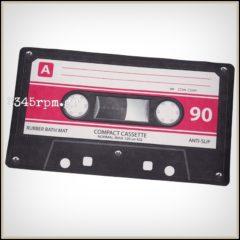 Bath mat Cassette Tape
