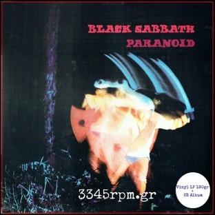 Black Sabbath - Paranoid - Vinyl LP 180gr HQ + CD Album, 3345rpm.gr