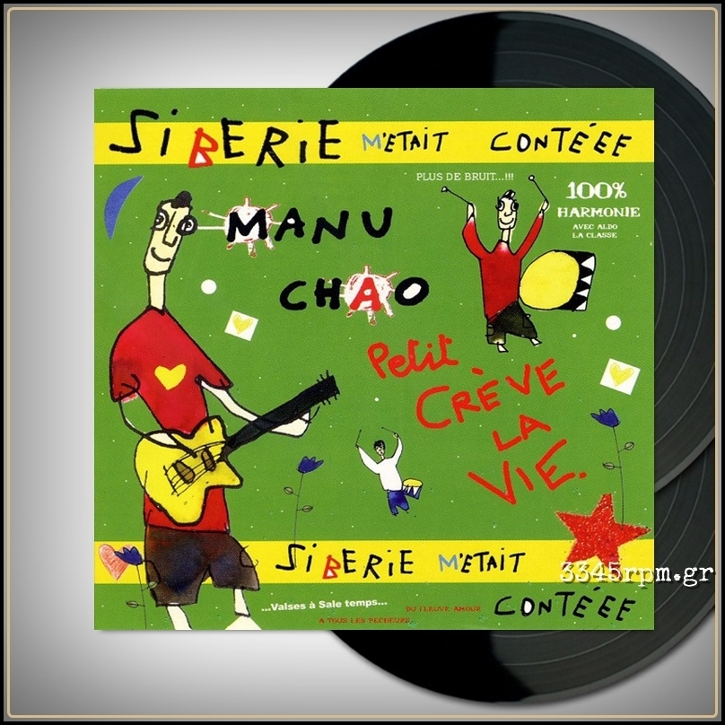 Chao, Manu - Siberie M'Etait Contéee - Vinyl 2LP & CD