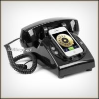 Classic Phone Handset Dock Stand for iPhone_